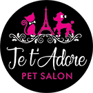 Jet' Adore Pet Salon Logo